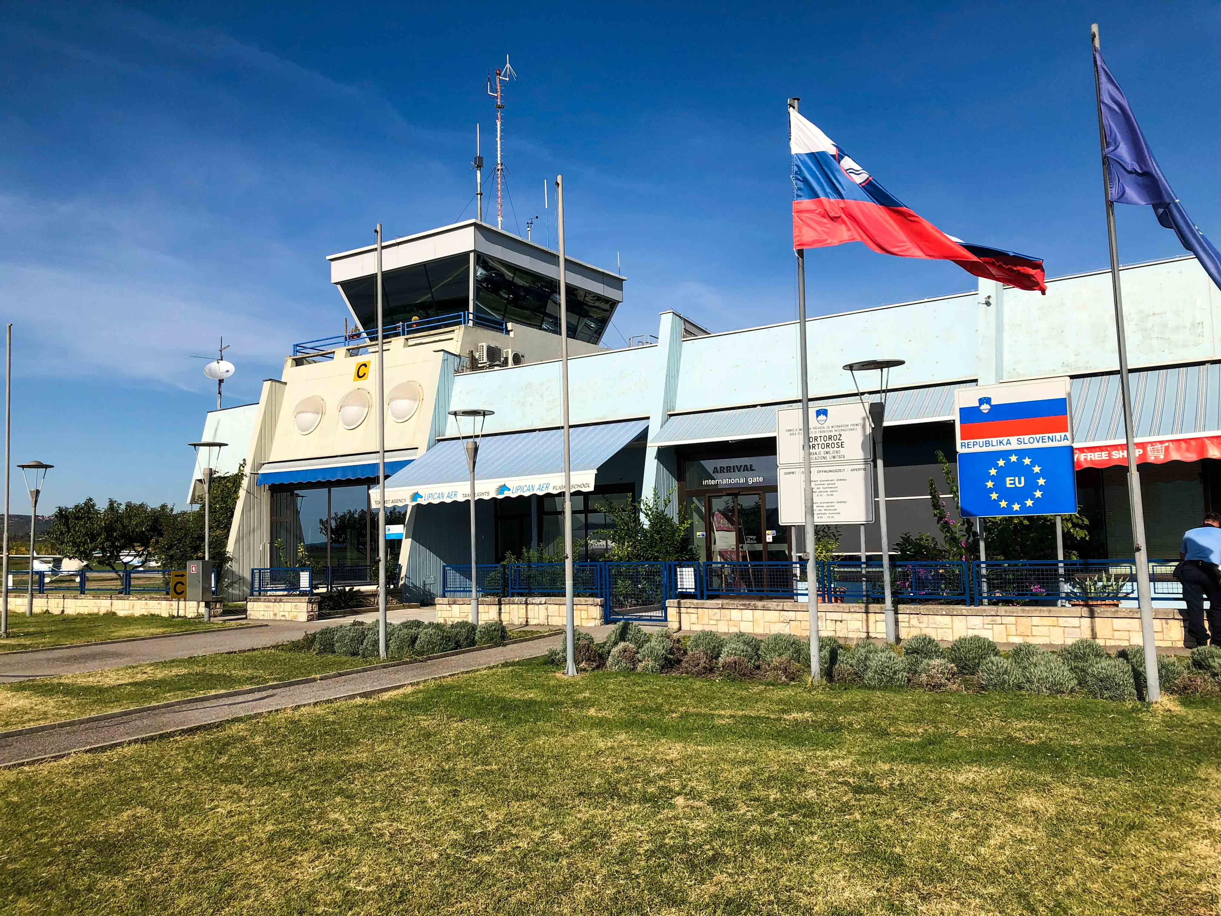 Super freundlicher Flugplatz Portoroz